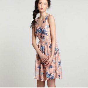 Anthropologie Zoologist by Charlotte Linton dress
